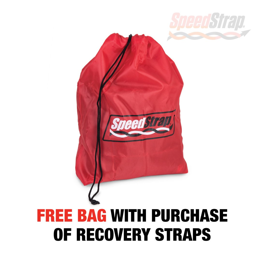 Promotion Graphic - Free Bag with Purchase of Recovery Straps