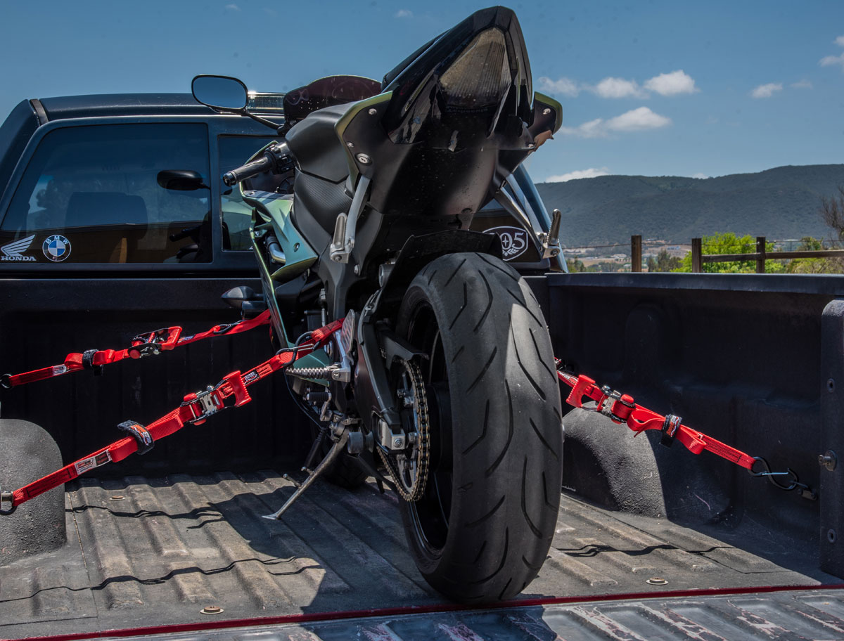 SpeedStrap Motorcyle