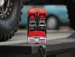 SpeedStrap 1in x 15ft Ratchet Tie-Downs - 2 Pack